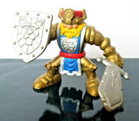 "Fisher Price Great Adventures ""MAGIC CASTLE GOLD KING KNIGHT"" 1999"
