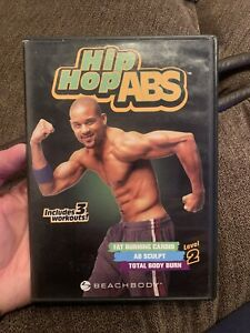 Hip Hop Abs Level 2 DVDs; Includes 3 Workouts! 2 Disc Set! Awesome!