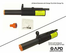 JG Airsoft AEG Barrel Extension Mount Upper Orange Tip Mp5  Tactical