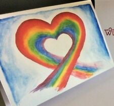 Rainbow Will you  MARRY ME / Proposal card - Unpersonalised - Folded