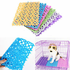 Puppy Dog Cat Hollow Food Anti Skid Place Mat Washable Rectangle Pet Bowl Pad