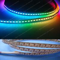 3.2ft 1m 144 LEDs WS2812B 5050 RGB LED Strip dream color Individual Addressable