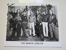 MONTE CARLOS  8x10 photo    AUTOGRAPHED