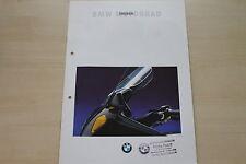 167421) BMW K 1100 LT K 75 RT R 100 RT R 80 RT Prospekt 08/1993