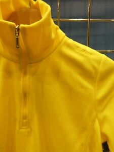 Female Ski Microfleece Top. CMP Arctic Range. Yellow *excess stock* Size 14