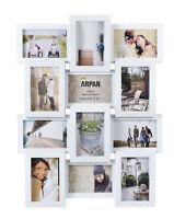 mehrere Öffnungen Foto Bilder Rahmen - hält 12 x 15.2cmx10.2cm ~ weiß 1014wt