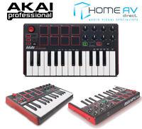 NEW AKAI MPK Mini 2 Compact Studio MIDI 25KEY Keyboard Music USB Controller