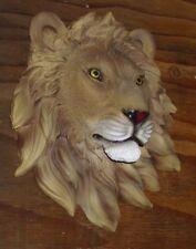 Concrete / Cement Statue Mold Plaque Lion Head Latex rubber / fiberglass
