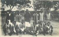 Heart`s of Day Football Team Accra Gold Coast Ghana Real Photo Postcard 1940s
