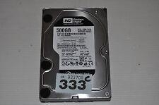 """C333 Western Digital BLACK WD5001AALS 500GB/Go 3.5"""" SATA - 3M Warranty"""