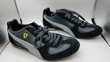 Puma Ferrari Men's Black/Gray Athletic Shoes Sz 9