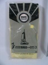 7 DVC BRAND KIRBY STYLE 3 VACUUM BAGS