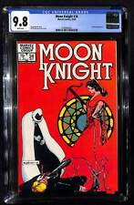 Moon Knight #24 CGC 9.8 Marvel Comics Scarlet appearance