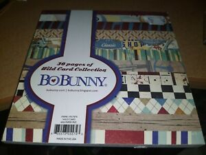 PAPERBLOCK BO BUNNY/36 SHEETS/6X6 INCH/1 SIDE/ NEW (D)