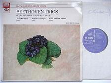 JANIGRO, FOURNIER & BADURA-SKODA PLAY BEETHOVEN TRIOs EMI XLP 20079