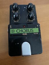 1980s Pearl CH-02 (CH02) Vintage Chorus Guitar Pedal, Made in Japan