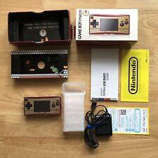 Nintendo Gameboy Micro Famicom 20th Anniversary LTD Edition console OXY-001