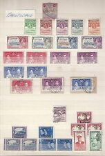 Basutoland collection 96 stamps  3 PAGES!