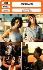 FICHE CINEMA : MERCI LA VIE - Gainsbourg,Grinberg,Blanc,Girardot,Blier 1991
