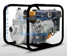 2 Gas Water Pump Self Priming Centrifugal Transfer Fire Spray All Metal Nib