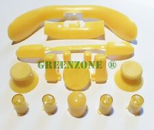Yellow Xbox 360 Replacement Controller Buttons inc ABXY, Thumbs, Guide, D Pad