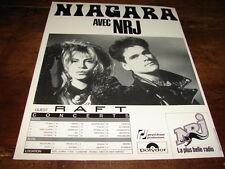 NIAGARA - PUBLICITE DATES CONCERT AVEC NRJ !!!!!!!!!!!!