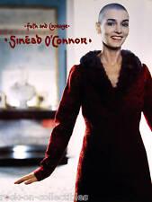 Sinead O'Connor 2000 Faith And Courage Original Promo Poster
