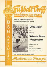 DDR-Liga 80/81 ZEPA activista negra bomba-Hoyerswerda-TSG gröditz