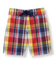 Janie and Jack  Beach Bungalow Boys Swimsuit Trunks Size 4