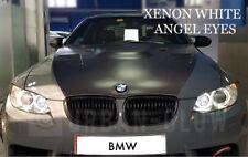 BMW 3 Series E90 E91 E92 CREE LED XENON WHITE Angel Eyes Halo Rings Light 80W H8