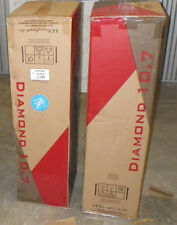 WHARFEDALE DIAMOND 10.5 CHERRY WALNUT OR BLACK MINT NEW SEALED BOX