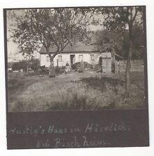 Ü/93  FOTO HAUS IN HÄSELICH BEI BISCHHEIM