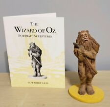 "Franklin Mint Wizard Of Oz Figure."" Cowardly Lion"" With Card"