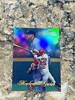 1998 Topps Gold Label Class 1 Fielding Mark McGwire #15 St Louis Cardinals Card