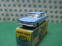 Vintage -  CHEVROLET  CORVAIR      -  Corgi toys 229