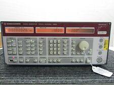 Rohde Amp Schwarz Smhu Signal Generator 100khz 4320mhz 835 8011 58