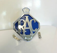 RAC Metal Car Grille Badge Includes Fixings