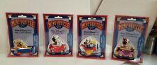 Walt Disney World Mini Vehicle Toy Die Cast Metal - LOT of 4 - NIB - Rare - Mint