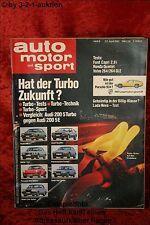 AMS Auto Motor Sport 8/81 * Volvo 264 GLE Ford Capri 2,8i Lada Niva
