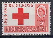Rhodesia & Nyassaland 1963 ** Mi. 49 Rotes Kreuz Red Cross [sq4149]