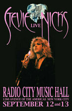STEVIE NICKS REPLICA 1983 CONCERT POSTER