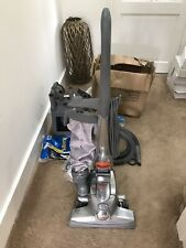 Kirby Sentra upright cleaner with all-accessories plus extra bags and bands.