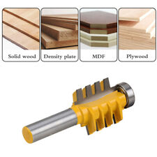 Tongue Groove Router Bit Woodworking Cutter Tool 1/2'' Shank Milling Cutting Set