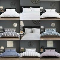 Embroidered 100% Cotton Hotel High Quality Duvet Cover Bedding Set - 10 Designs