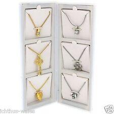 Pierre Cardin 6 Piece Ladies Pendant Gift Box Set (6 Pendants & 6 Chains)