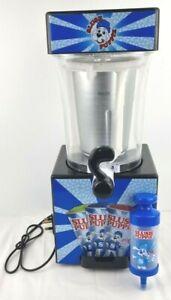 Slush Puppy 9041 Slushie Frozen Ice Drink Machine Maker & Syringe - Working