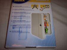 "Helix Standard Key Cabinet, 20 Key Wr0020, Lockable, 10""T x 7-1/2""W"