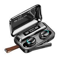 Cuffie Wireless Bluetooth 5.0 TWS Cuffie Stereo 9D Cuffie Con Microfono
