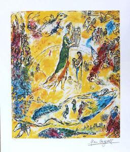 Marc CHAGALL Sorcerer of Music Facsimile Signed Fine Art Print