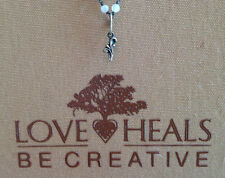 Love Heals Be Creative Small Accent Leaf Rare Charm NEW Retails $15.00